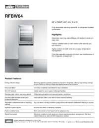 Brochure RFBW64