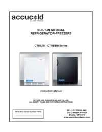 CT66JBI and CT66BBI AccuCold Manual