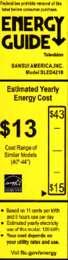 SLED4216 Energy Guide