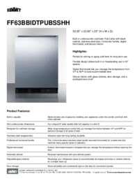 Brochure FF63BBIDTPUBSSHH