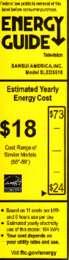 SLED5516 Energy Guide