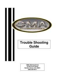 Troubleshooting Manual