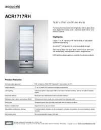 Brochure ACR1717RH