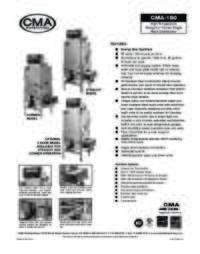 CMA Dishmachines CMA 180C.SpecSheet