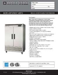 Maxximum MCR 49FD.SpecSheet