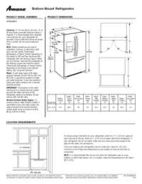 AFI2539ERM Dimension Guide EN