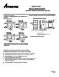 NED4705EW Dimension Guide EN