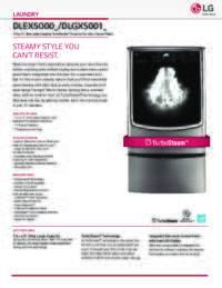 DLEX5000 DLGX5001 Spec Sheet
