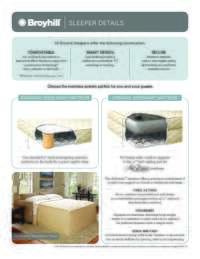 Broyhill Sleeper Details