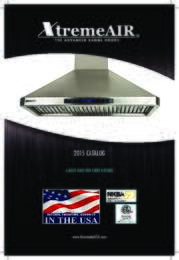 XremeAir USA 2015 Catalog