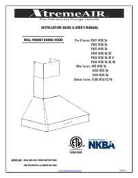 XtremeAir Wall User Manual
