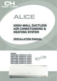 Alice Installation Manual