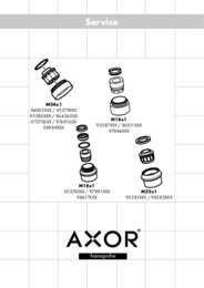Service Instructions   Aerator