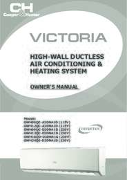 Victoria Owner's Manual