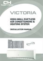 Victoria Installation Manual