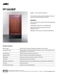 Brochure FF1843BIF