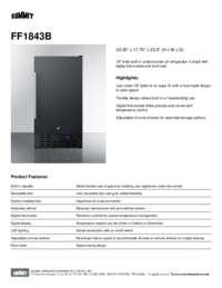 Brochure FF1843B