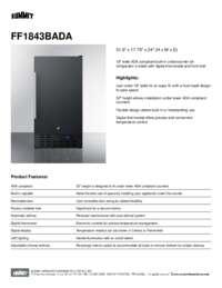 Brochure FF1843BADA