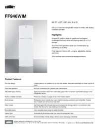 Brochure FF946WIM