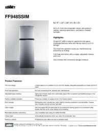 Brochure FF948SSIM