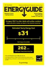 EnergyGuide FF412ES
