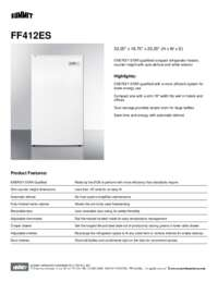 Brochure FF412ES