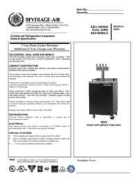 bev500 4 sixth keg spec sheet  Anton