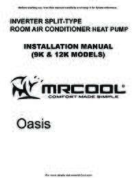 MrCool Oasis Install All 4web