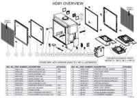 Overview Parts List