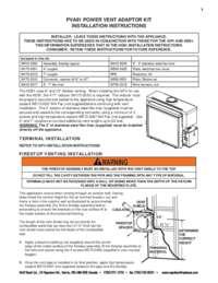 Power Vent Adaptop Kit