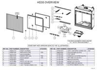 HD35 Overview Parts List