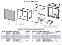 HD40 Overview Parts List