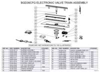 BGD36CFG Valve Train Assembly