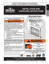 BGD36CFGN 1SB Manual