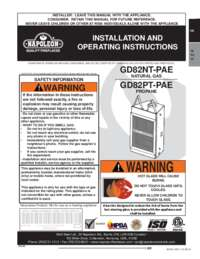 GD82NT Manual
