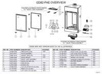 GD82 PA Overview Parts List