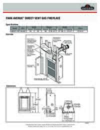 Park Avenue Spec Sheet