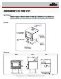 Independence 1450 Spec Sheet