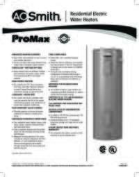ProMax® Spec Sheet