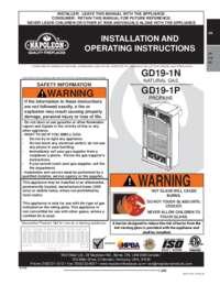 GD19 Manual