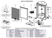 GD19 Overview Parts List