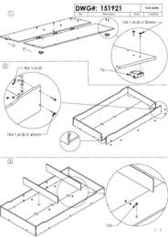 Trundle Assembly Instructions