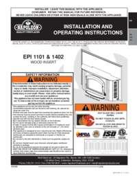 EPI 1101M Oakdale Product Manual