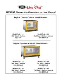 LineChef XAF Digital Convection Ovens Manual RV11