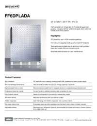 Brochure FF6DPLADA