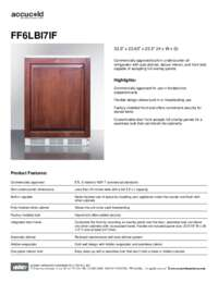 Spec Sheet   FF6LBI7IF