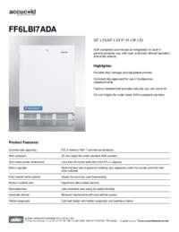 Spec Sheet   FF6LBI7ADA