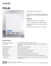 Spec Sheet   FF6LBI