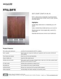 Spec Sheet   FF6LBIFR