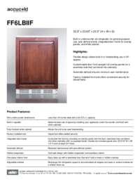Spec Sheet   FF6LBIIF